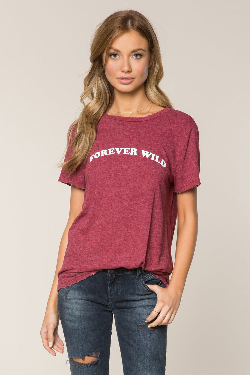 Forever Wild Rec Tee