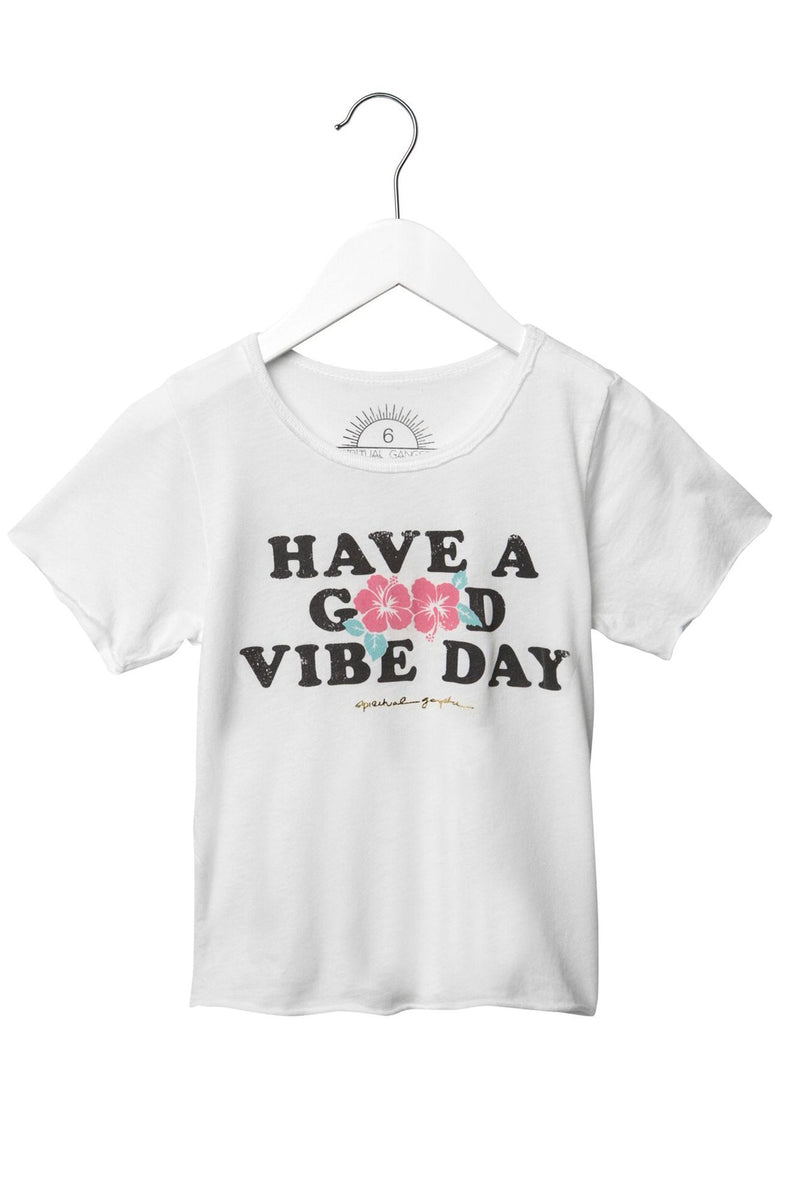Have A Good Vibe Day Kids Tee