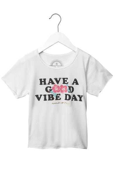 HAVE A GOOD VIBE DAY KIDS TEE - Spiritual Gangster