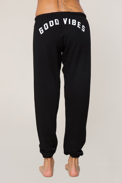 Good Vibes Arch Favorite Sweatpant - Spiritual Gangster
