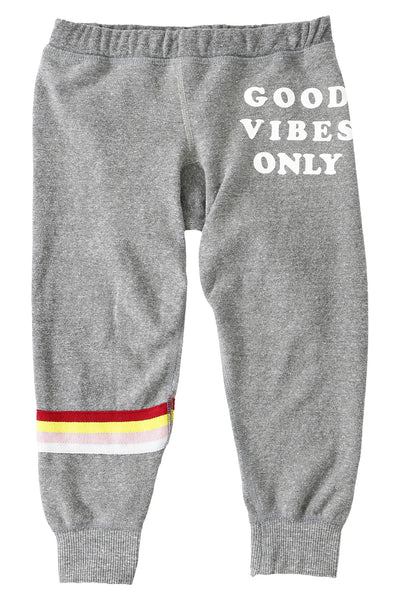 Good Vibes Only Kids Sweatpant (2T - 8) - Spiritual Gangster - 1