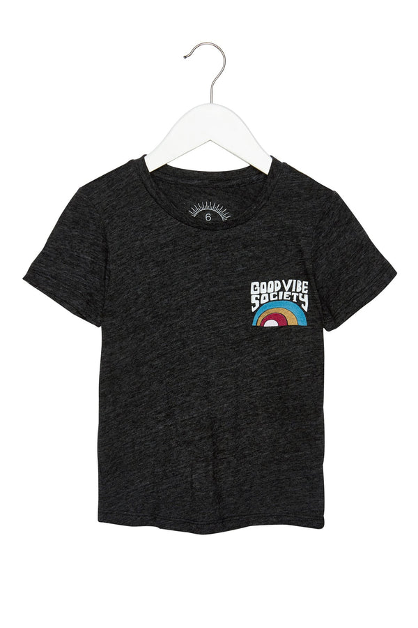 GOOD VIBE PATCH KIDS TEE - Spiritual Gangster