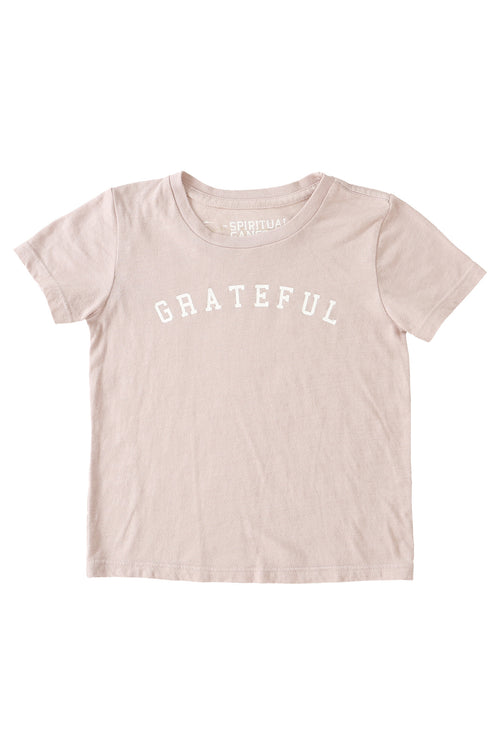 Grateful Arch Kids Tee Blush (10-14) - Spiritual Gangster