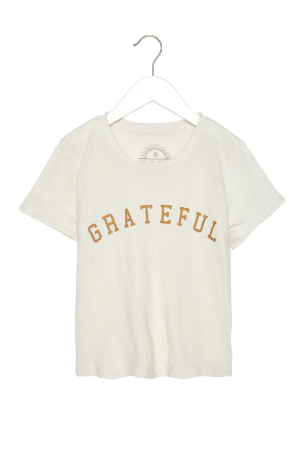 GRATEFUL KIDS TEE STONE - Spiritual Gangster