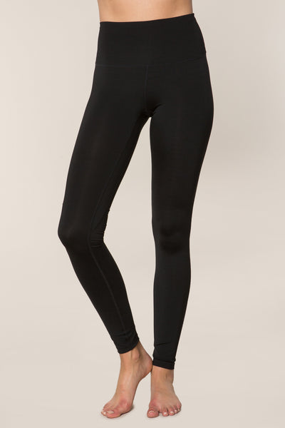 HIGH VIBE LEGGING VINTAGE BLACK - Spiritual Gangster