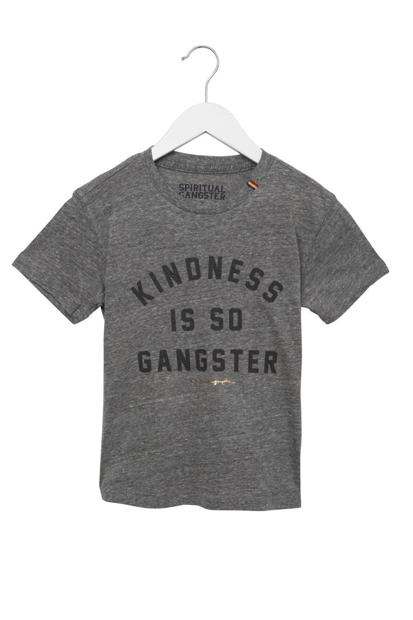 KINDNESS IS SO GANGSTER KIDS TEE - Spiritual Gangster