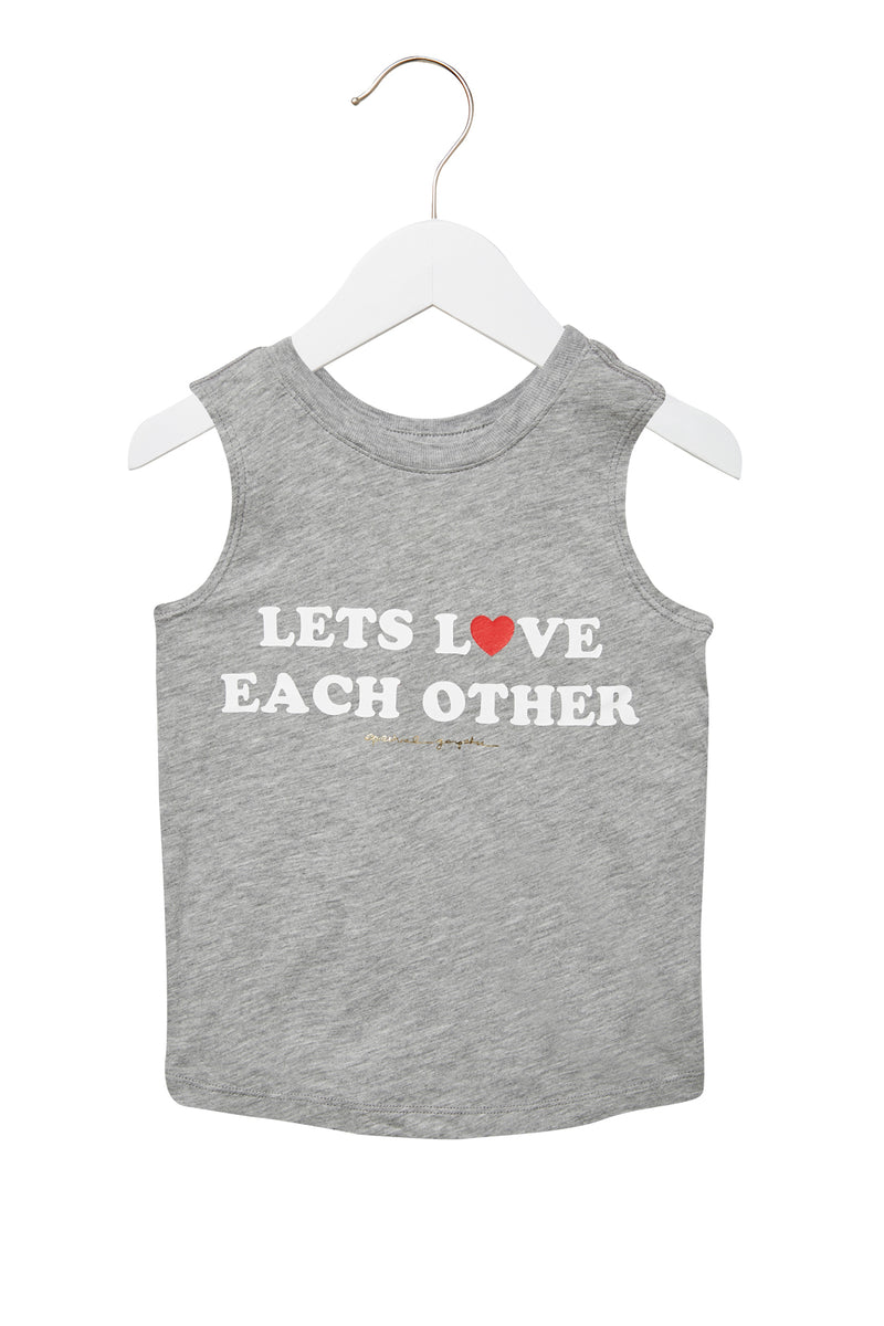 Let'S Love Each Other Kids Tank