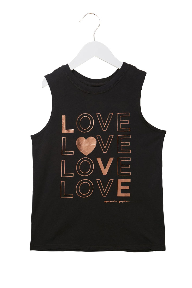 LOVE GIRLS MUSCLE TANK