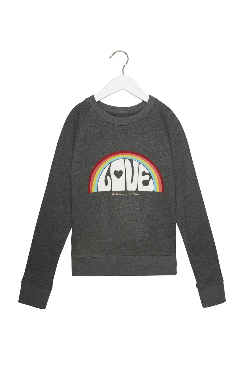 Kids Love Rainbow Sweatshirt