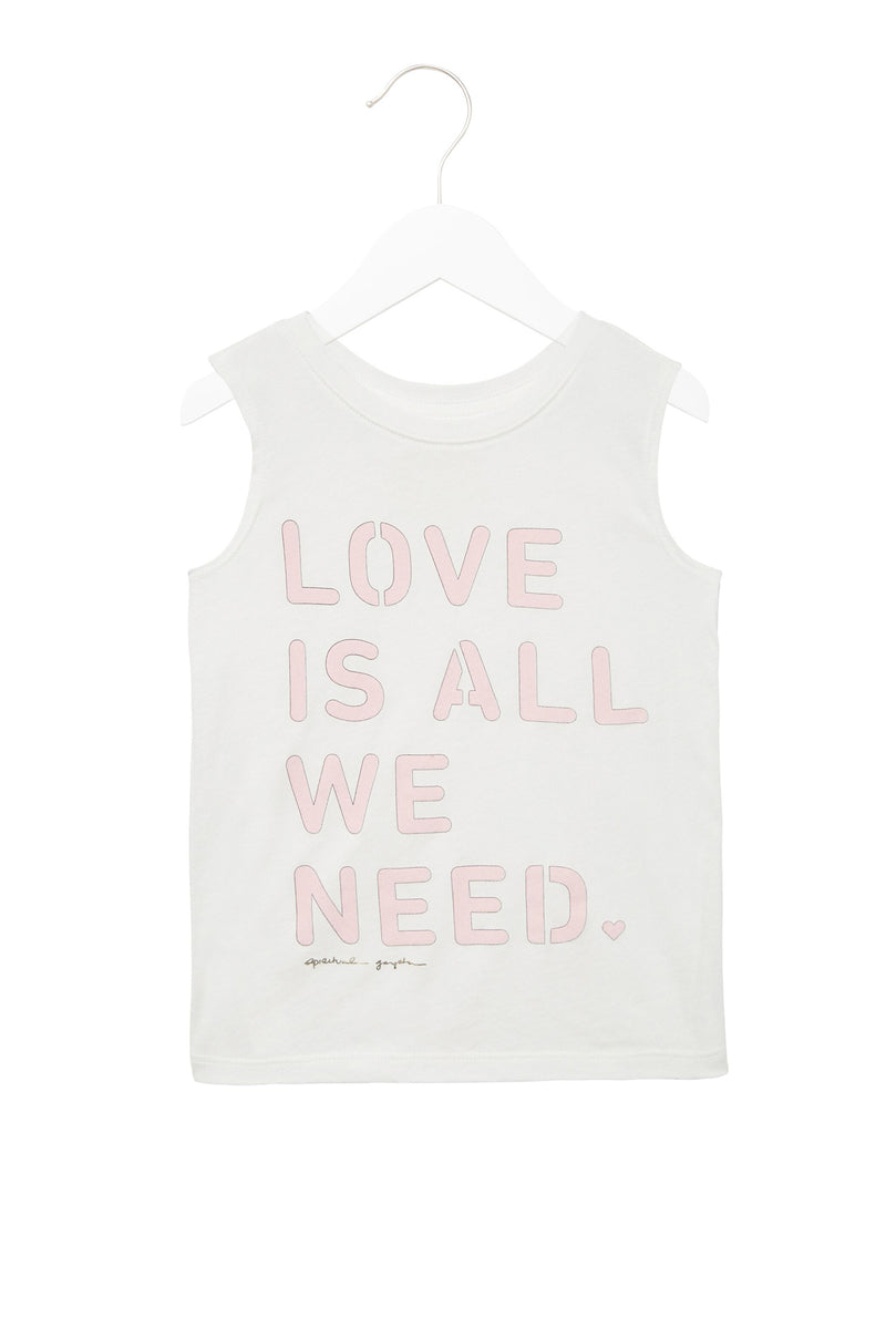 LOVE IS ALL WE NEED TANK