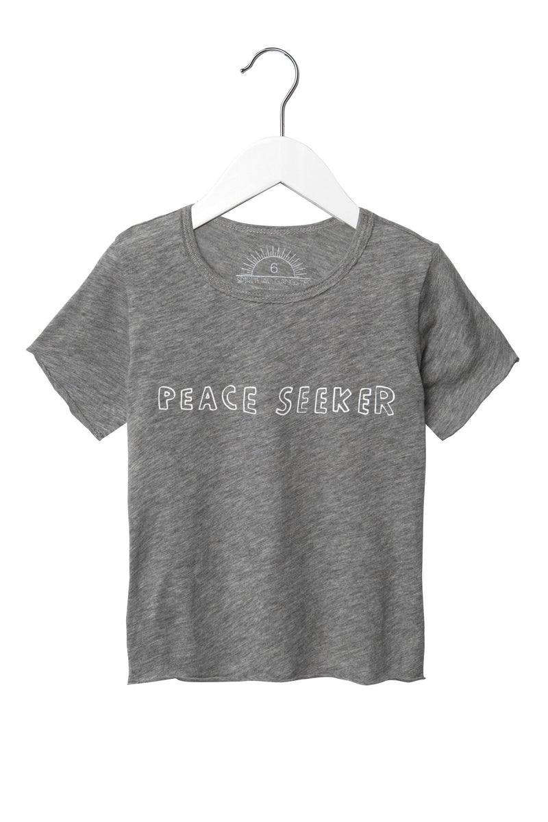 PEACE SEEKER KIDS TEE