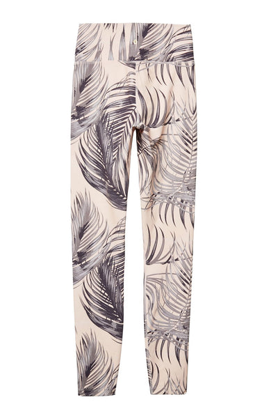 PERFECT HIGH WAIST 7/8 LEGGING PALM PRINT - Spiritual Gangster