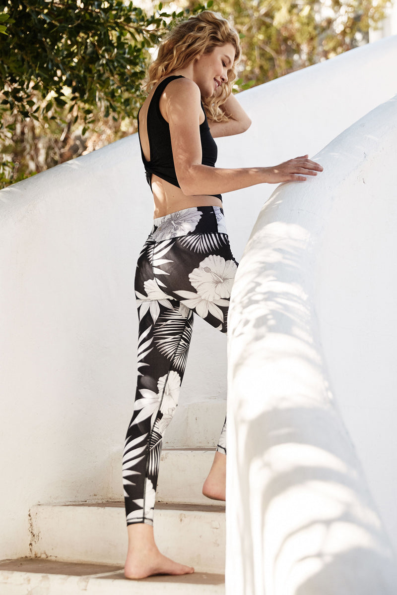 TROPICAL HIGH WAIST 7/8 LEGGING