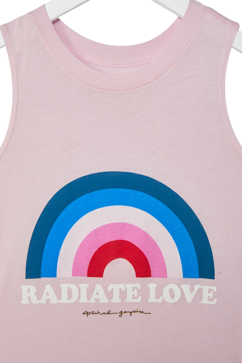 Radiate Love Kids Muscle Tank