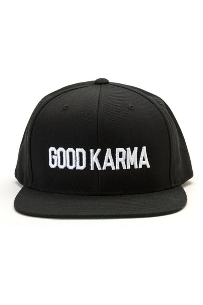 Good Karma Snapback Black - Spiritual Gangster - 1