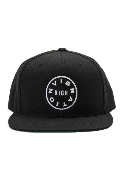 SG High Vibration Snapback Black - Spiritual Gangster - 1