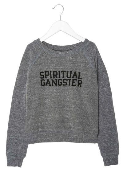 SG VARSITY KIDS PULLOVER HEATHER GREY - Spiritual Gangster