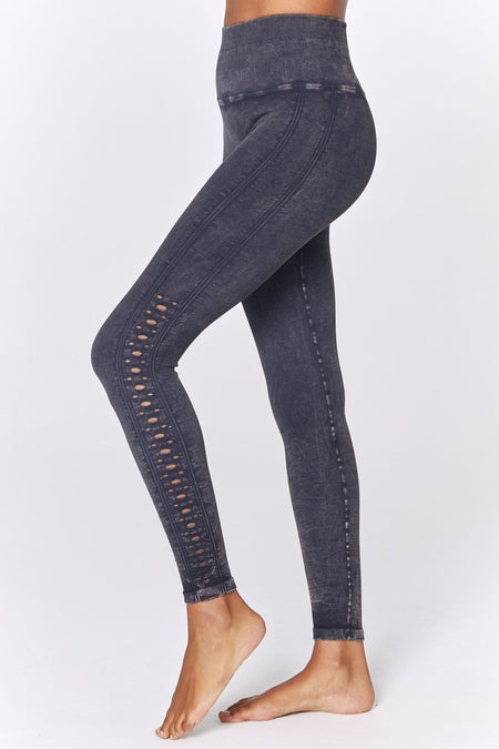 PERFECT HEATHERED HIGH WAIST LEGGING