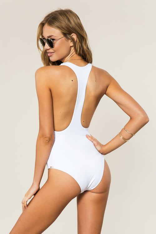 SG Varsity Swim One Piece - Spiritual Gangster