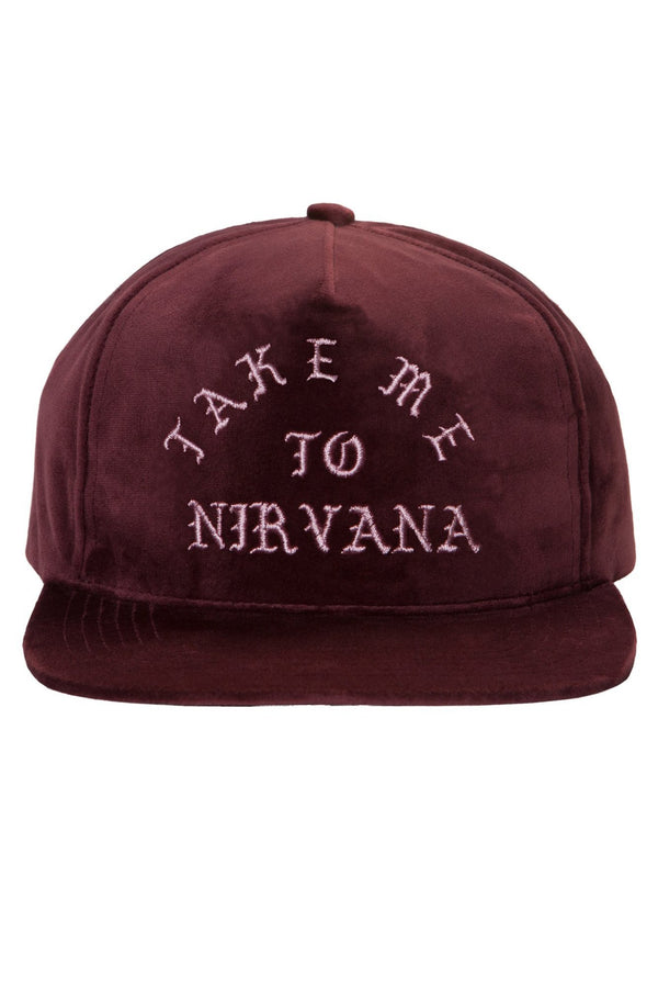 TAKE ME TO NIRVANA VELVET SNAPBACK - Spiritual Gangster