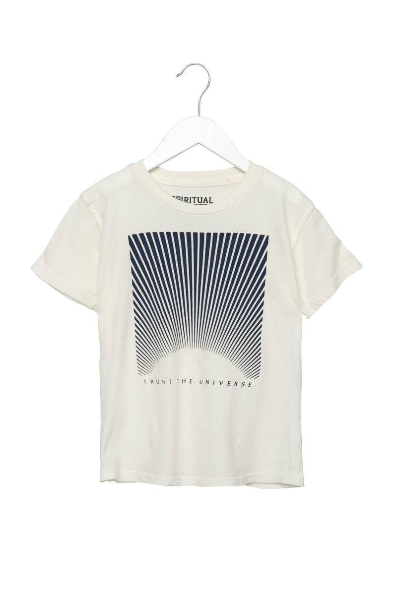 Trust the Universe Kids Tee Whisper White