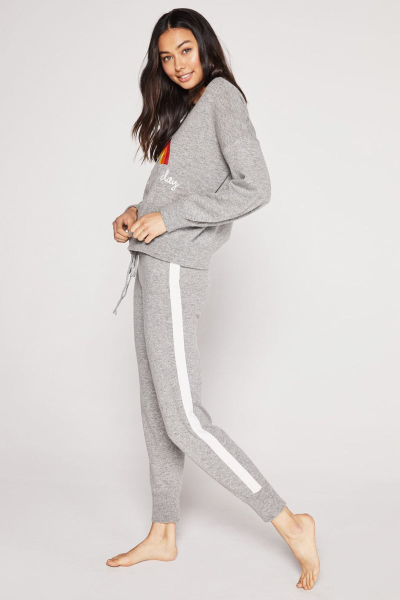 SLIM SWEATER KNIT JOGGER