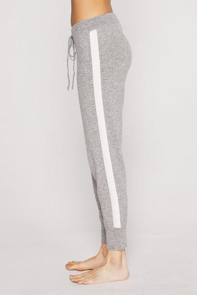 SLIM SWEATER KNIT JOGGER HEATHER GREY - Spiritual Gangster