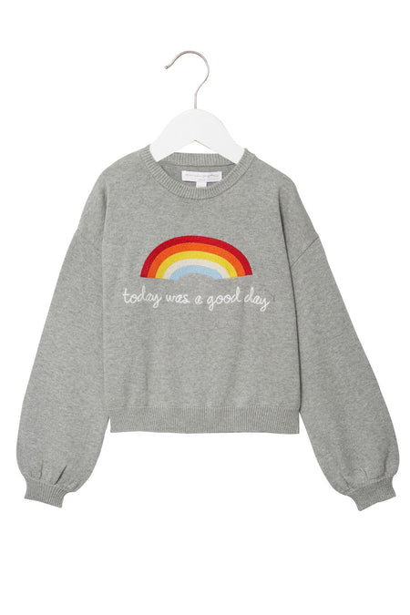 ONLY FROM THE HEART KIDS CLASSIC SWEATER SPRUCE