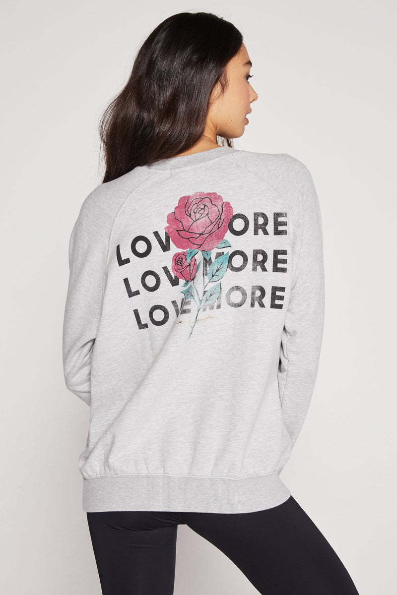 LOVE MORE CLASSIC CREW SWEATSHIRT