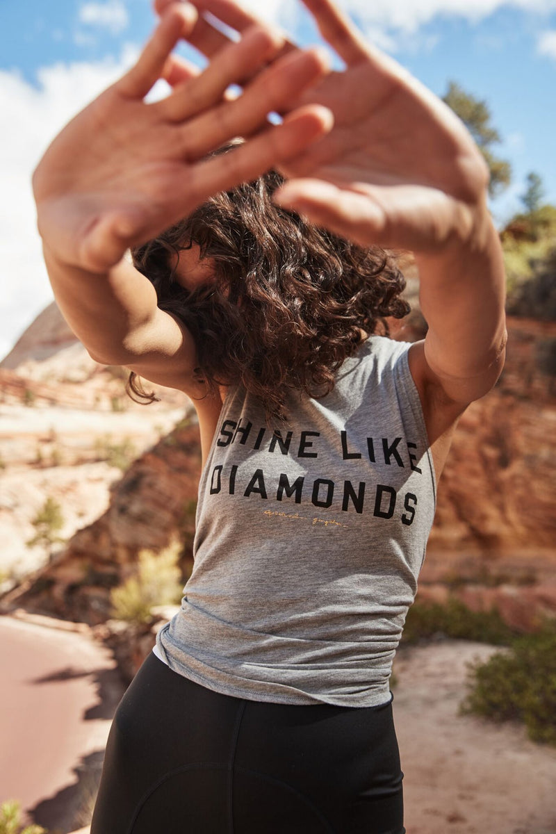 Shine Like Diamonds Muscle Tank