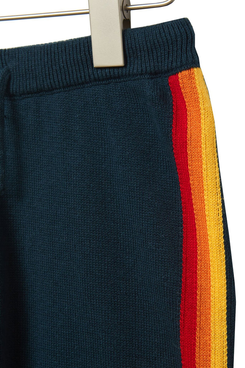 RAINBOW KIDS KNIT JOGGER