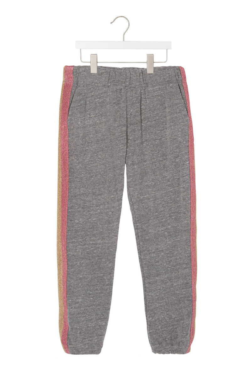 GIRLS STRIPED FAVE SWEATPANT
