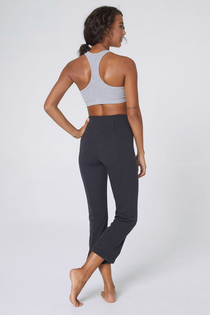 CROP FLARE SWEATPANT