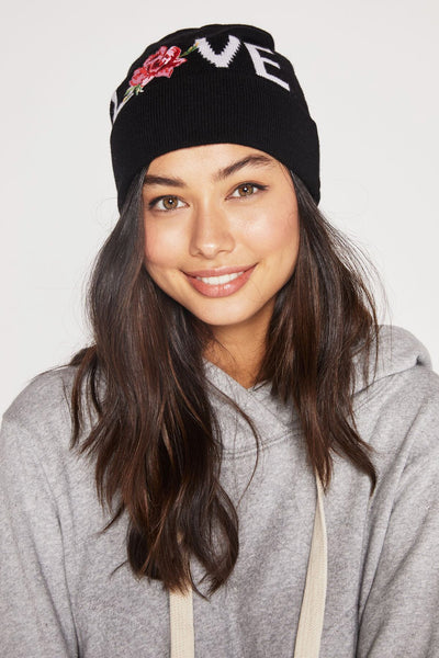 LOVE EMBROIDERED BEANIE - Spiritual Gangster