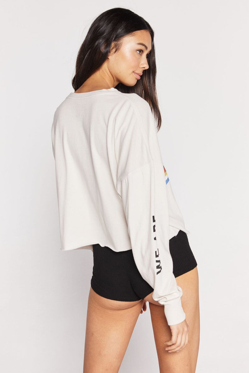 All One Crop Long Sleeve Tee