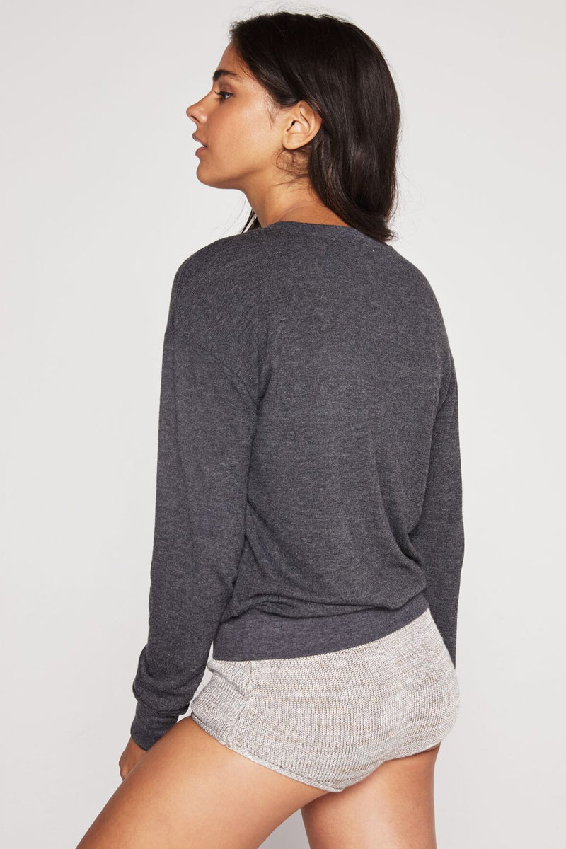SHINE CREW NECK SAVASANA