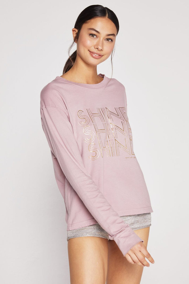 SHINE VINTAGE GAME CHANGER LONG SLEEVE TEE