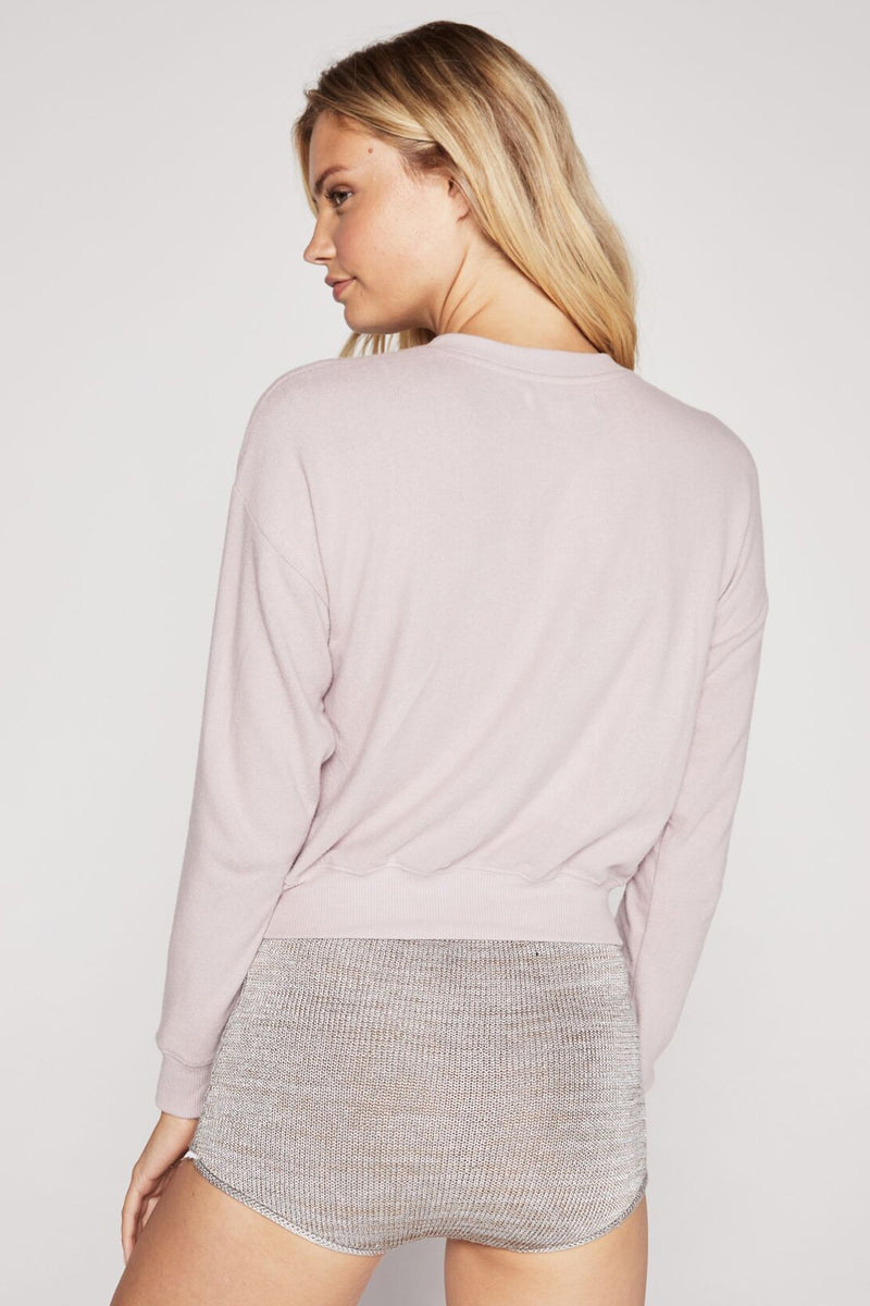 LOVE WILL SET US FREE MALIBU HACCI PULLOVER