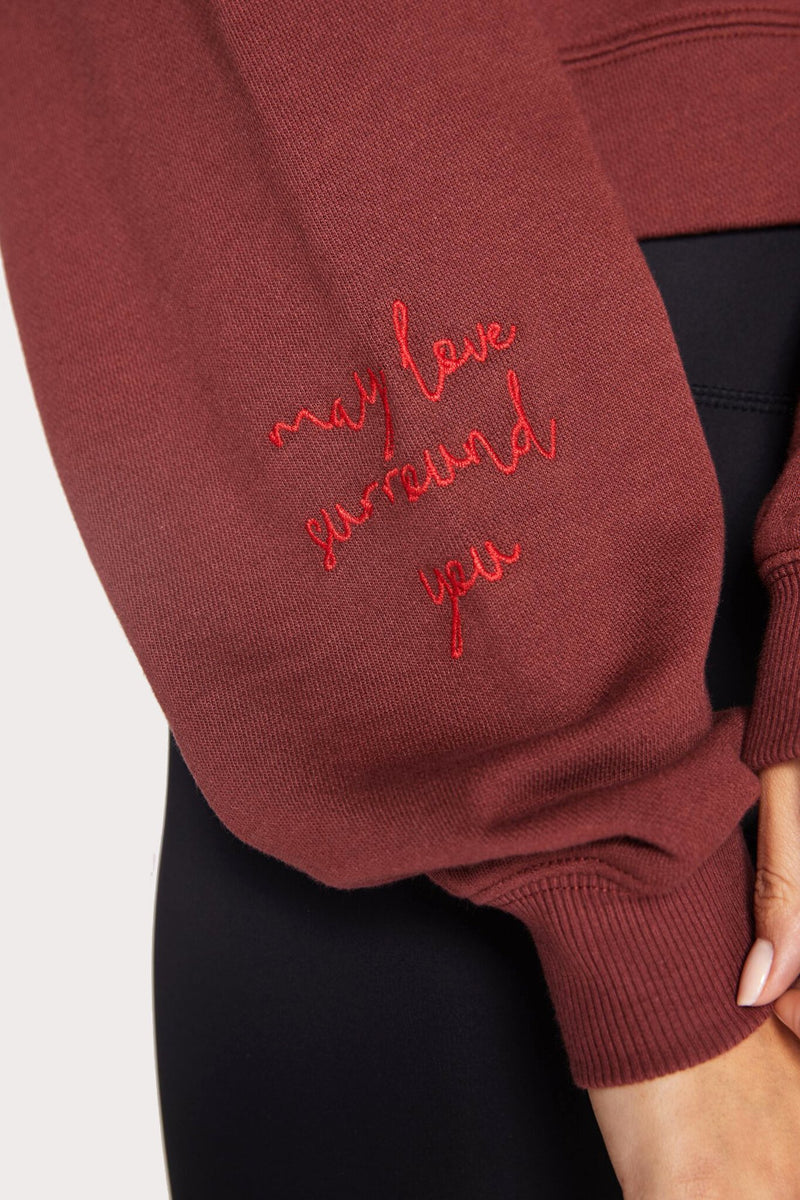 MAY LOVE SURROUND YOU SWEATSHIRT