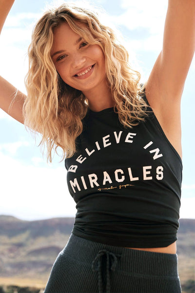 BELIEVE IN MIRACLES MUSCLE TANK - Spiritual Gangster