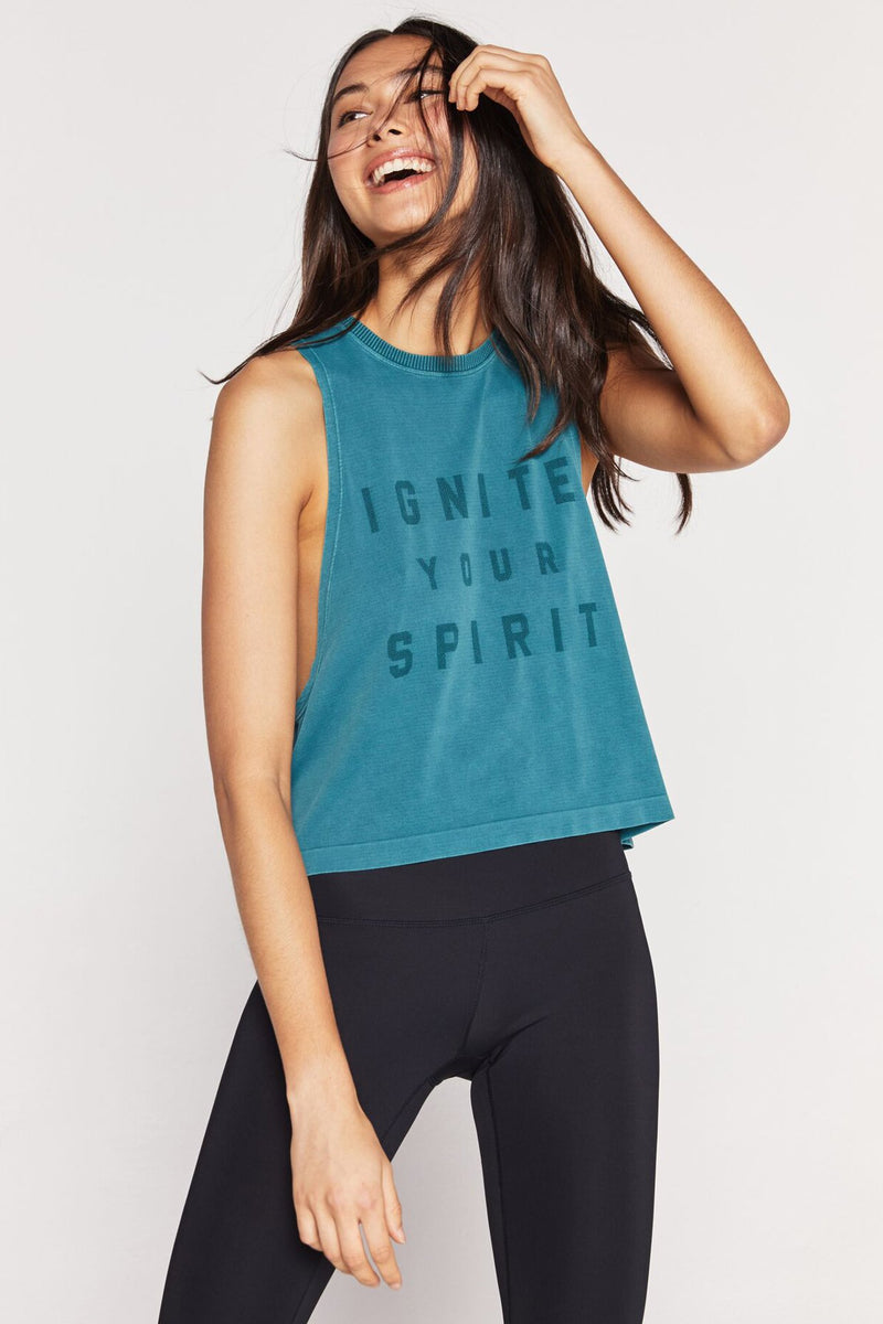 Ignite Your Spirit Seamless Active Supernova Tank