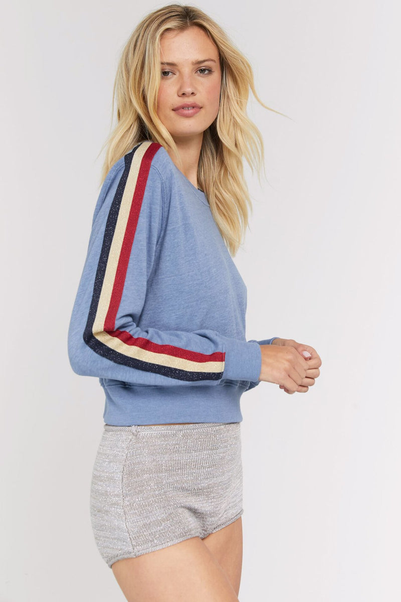 CROP CREW SWEATSHIRT