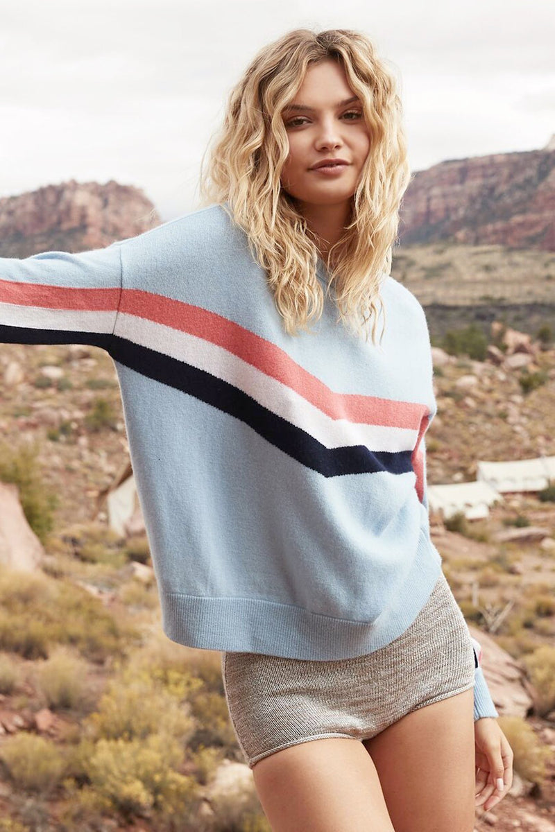 STRIPES BLOCK PARTY SWEATER