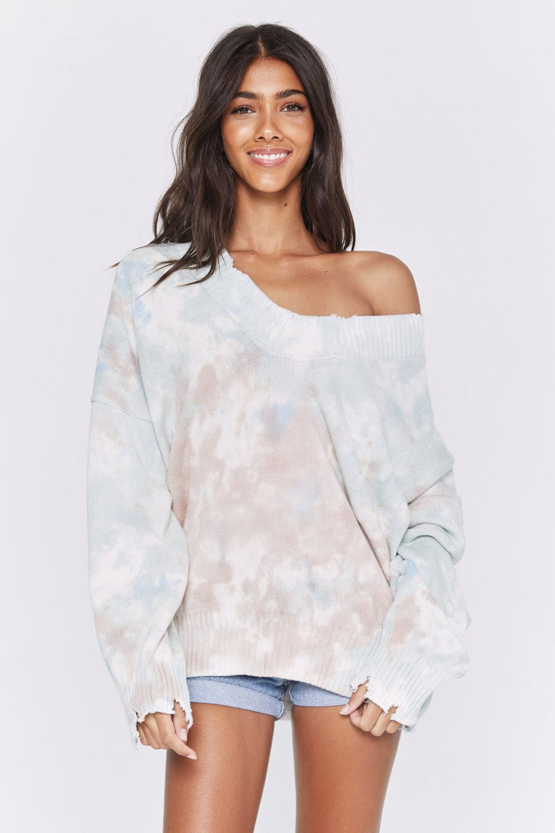 Reflection Tie Dye Sweater