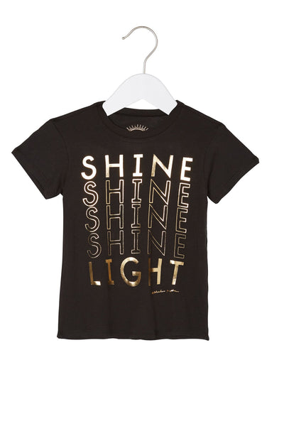SHINE LIGHT KIDS TEE - Spiritual Gangster