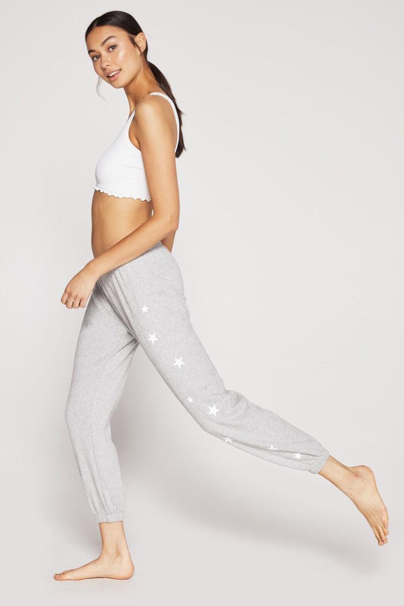 STARRY PRINT SPARKLE SWEATPANT