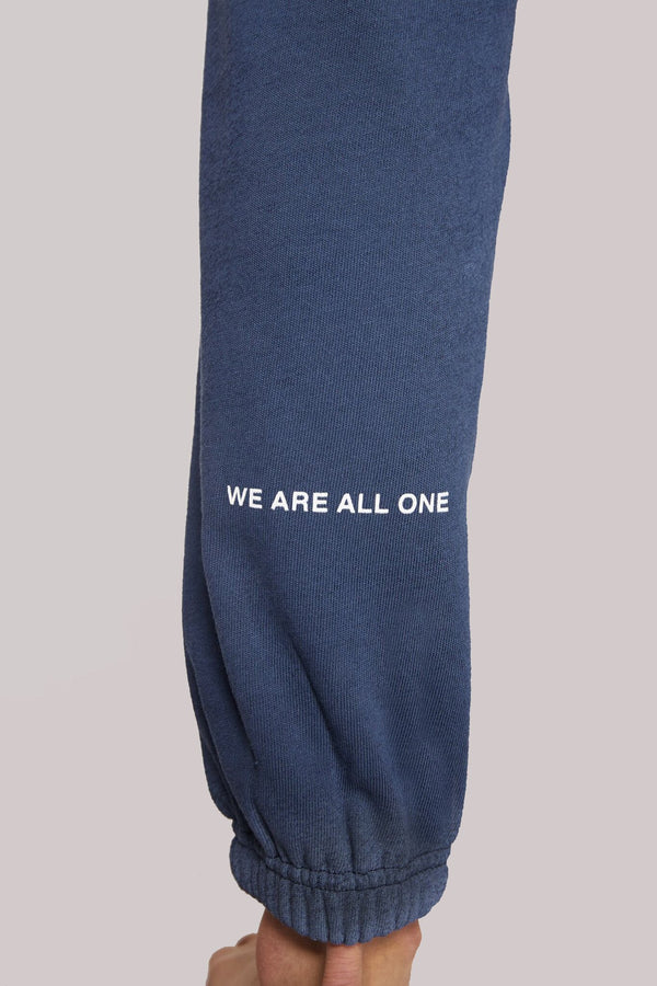 WE ARE ONE SESSIONS SWEATPANT DUSTY NAVY