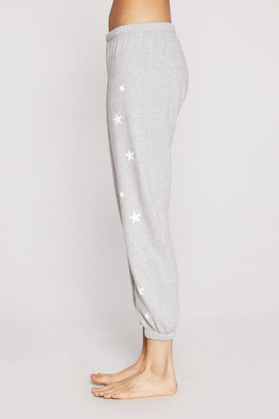 STARRY PRINT PERFECT SWEATPANT SPARKLE HEATHER - Spiritual Gangster