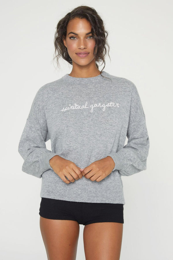 SPIRITUAL GANGSTER SIGNATURE SWEATER - Spiritual Gangster