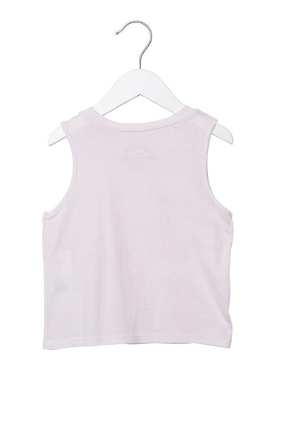 BREATHE DEEP KIDS TANK PINK - Spiritual Gangster